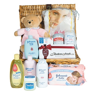 Newborn Baby Gift Ideas on New Born Baby Gift Basket